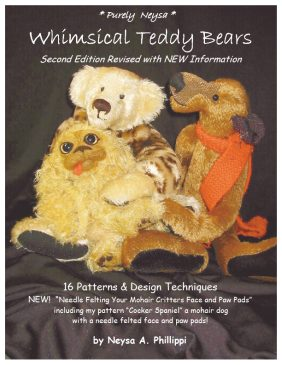 """Phillippi of Purely Neysa Mohair /""""Dudley the Rat/"""" a Rat  PATTERN by Neysa A"""